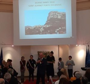Agence Web Nice: Voeux Mairie St Jeannet 2020